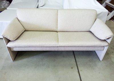 Stoffering van moderne meubelen
