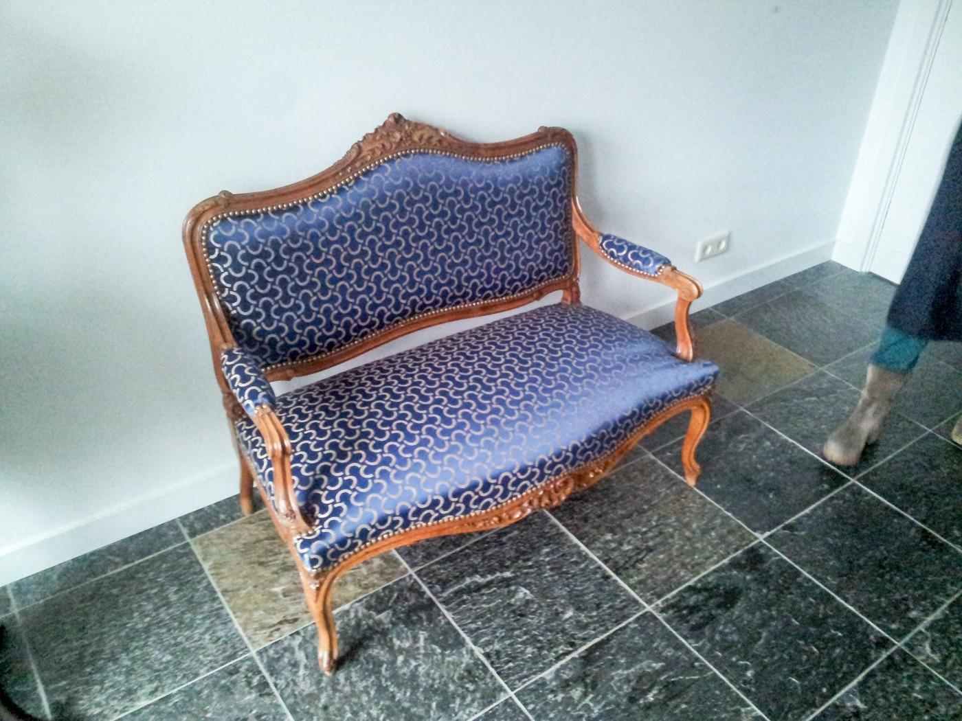 Stoffering van klassieke meubelen