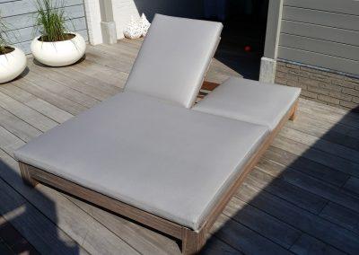 Loungebed grijs