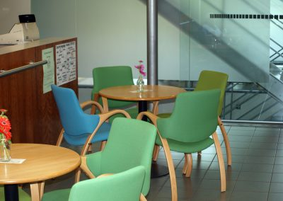 Groene stoeltjes
