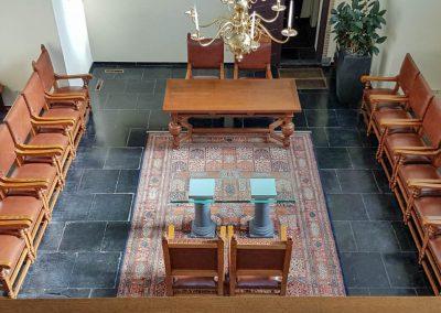 Proejcten, klassieke leren stoelbekleding